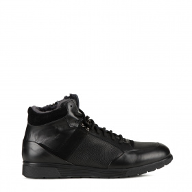 Men's sport ankle boots in shearling