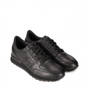 Men's sneakers in leather