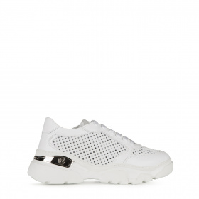 Ladies sneakers with perforations