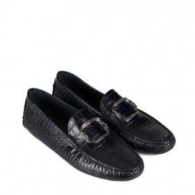 Men's moccasins in leather