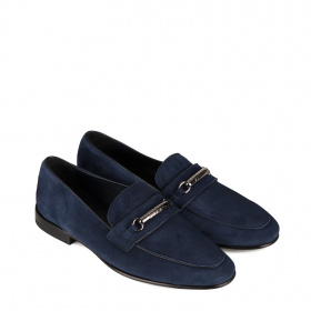 Men's moccasins in suede
