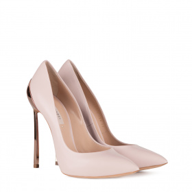 Pumps with gold