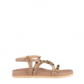 Sandals with pyramid studs