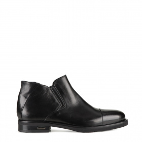 Men's formal boots with shearling