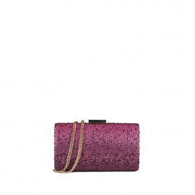 Swarovski crystals clutch