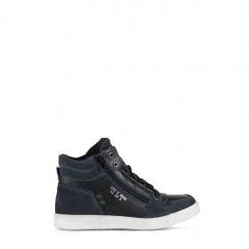 Junior blue ankle boots