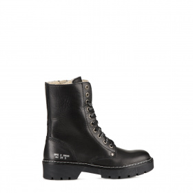Junior ankle boots in shearling