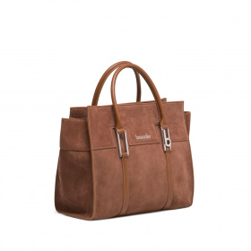Maxi bag  HELLEN in suede