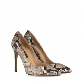 Python pointed pumps