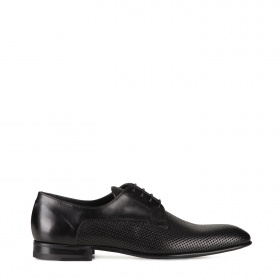 Men's formal shoes in perforations