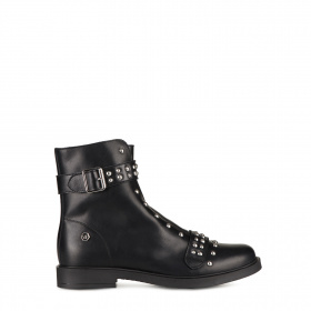 Junior ankle boots with shearling