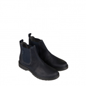 Kid's ankle boots in blue