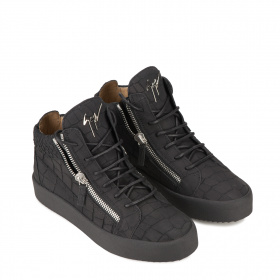 Men's sport ankle boots with zippers