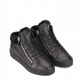 Men's shearling sport ankle boots