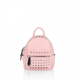 Mini backpack with spikes