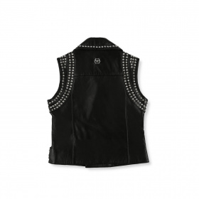 Junior leather vest