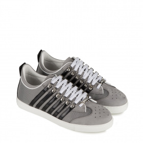 Men's gray sneakers