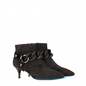 Ladies ankle boots in suede