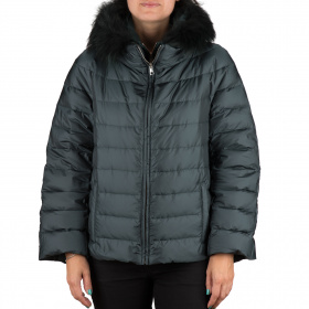 Down jacket with vest